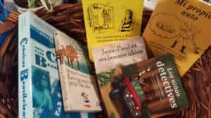 Books in Spanish and French