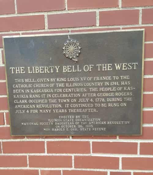 Kaskaskia Liberty Bell
