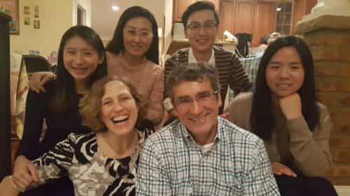 World Chicago China Delegation at Thanksgiving