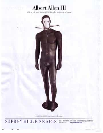 Albert Allen III Invisible Man