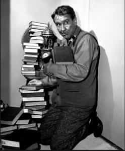 Burgess Meredith as The Obsolete Man