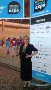 Deanna Shoss at Chicago Hispanic Business Expo 2015