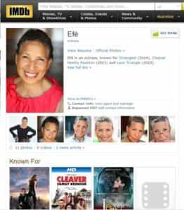 Efe McWorter Acting Success post-50