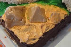 Pyramids of Giza Birthday Cake