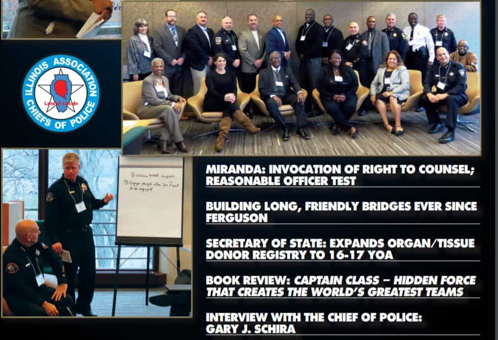 Illinois Chiefs of Police NAACP