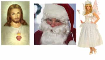White Jesus, Santa and Tooth Fairy