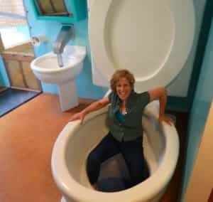World's Largest Toilet Columbus IN