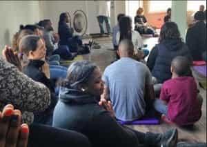 Yoga, Connection, I Grow Chicago Peace HOuse