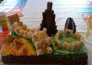 International Birthday Cake