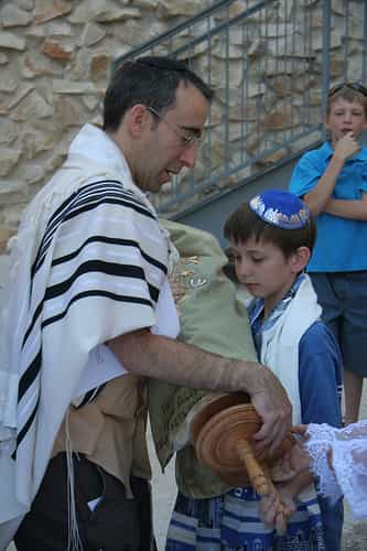 passing the torah