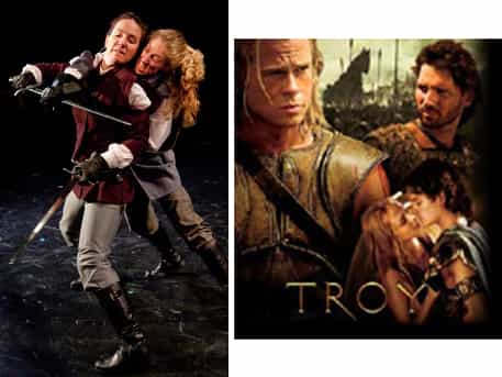 troy babes with blades comparison